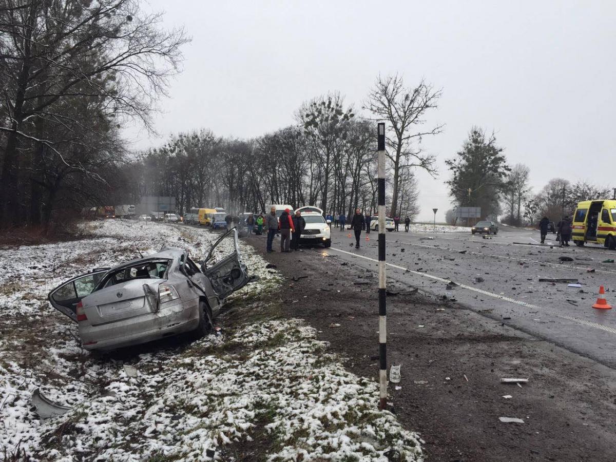 Аварія в Львівській області thumbnail