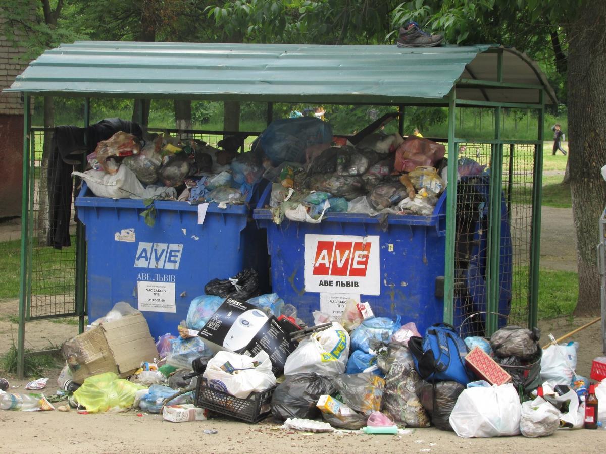 AВЕ Львів тимчасово припиняє вивозити сміття