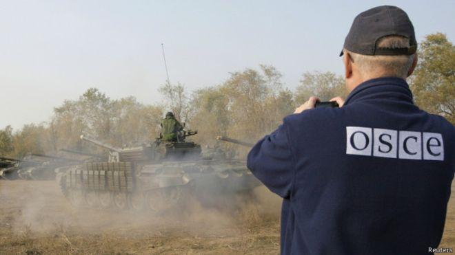 Президент: Постійна присутність ОБСЄ уСтаниці Луганській є передумовою для розведення військ