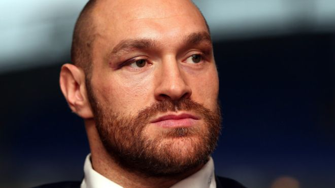 Ф'юрі тимчасово позбавлений боксерської ліцензії