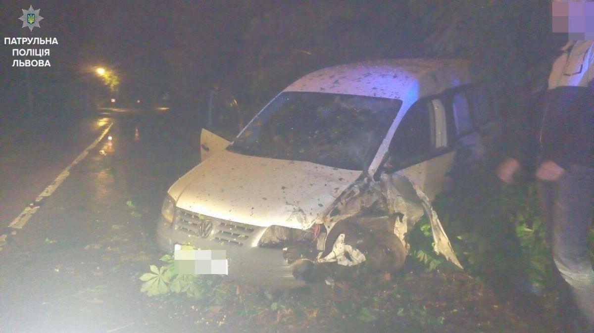 УЛьвові за ніч патрульні затримали десятьох п'яних водіїв