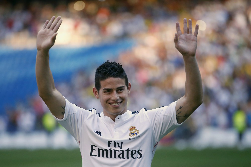 «Реал» готовий віддати Родрігеса воренду «Баварії»