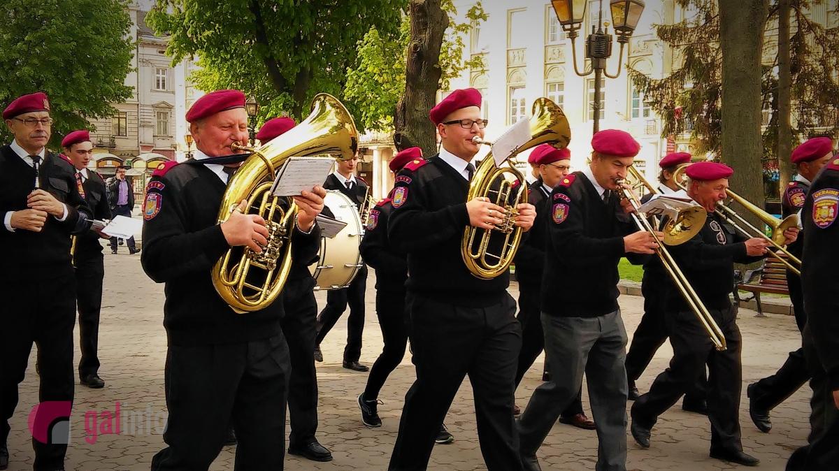 Поляки відсвяткували у Львові день Конституції Польщі