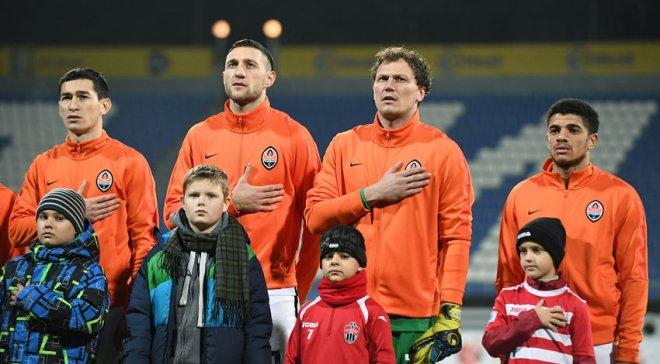 «Шахтар» заборонив дітям бійців АТО виводити футболістів наполе впатріотичних футболках