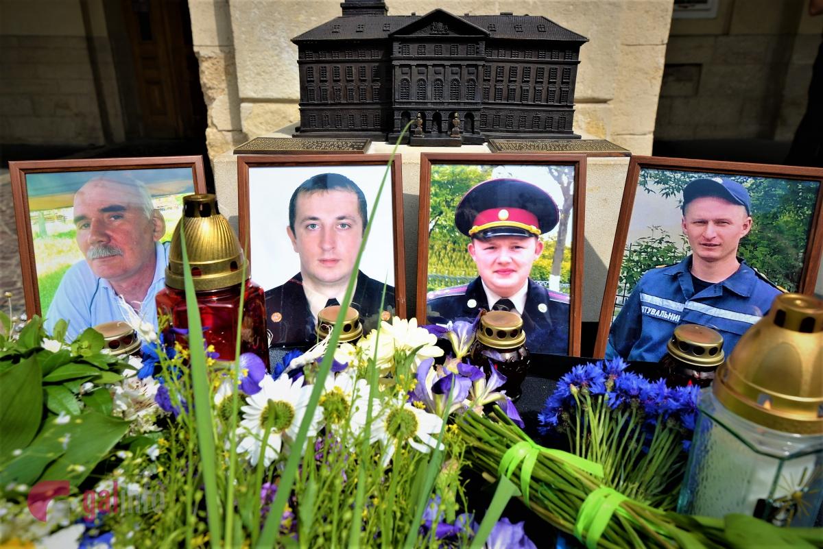 УЛьвові - день жалоби зазагиблими вГрибовичах рятувальниками