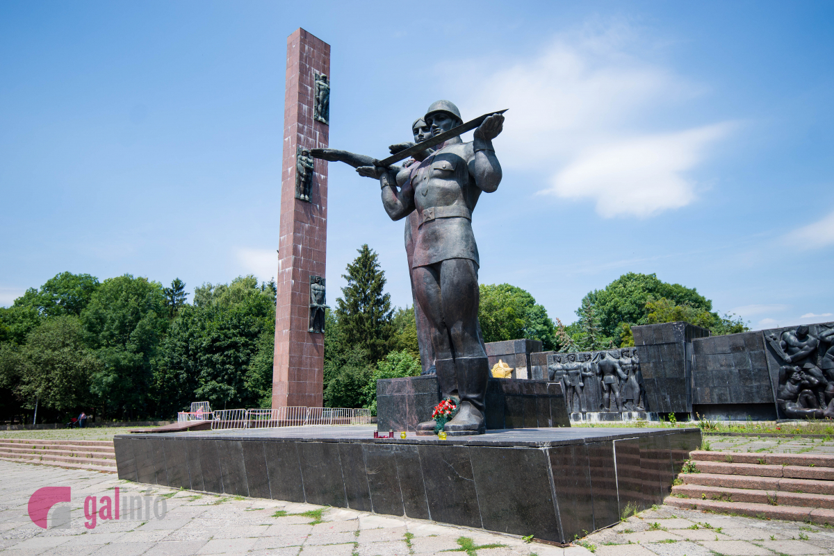 Монумент слави уЛьвові хочуть демонтувати 23 лютого