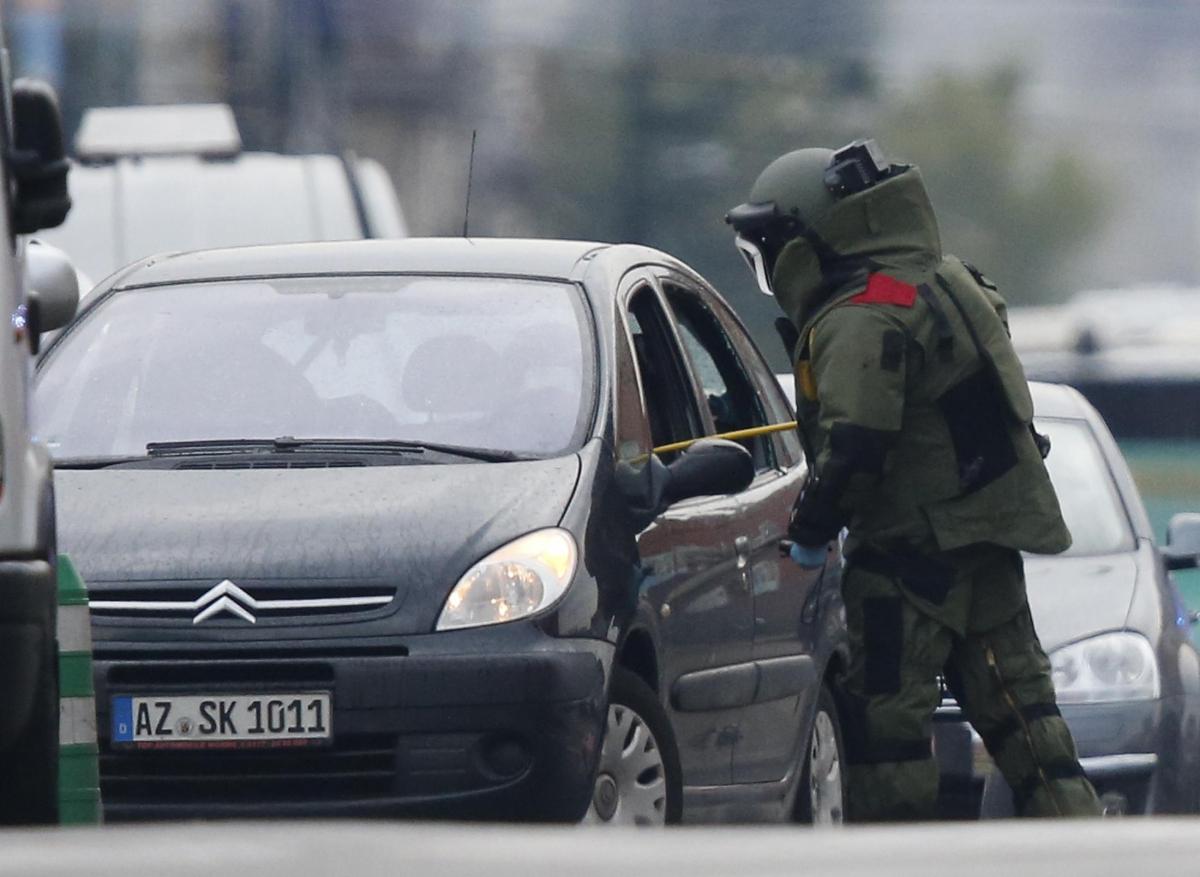 УБрюсселі затримали водія, який заявив про бомбу всвоїй машині
