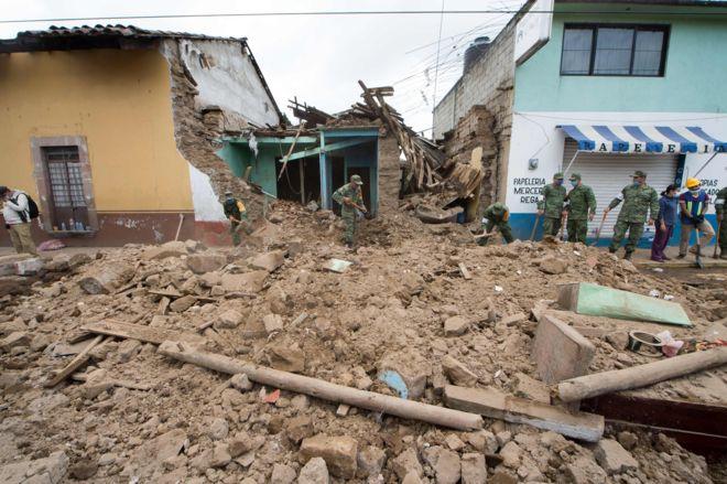 УМексиці стався землетрус магнітудою 6,2 уштаті Оахака