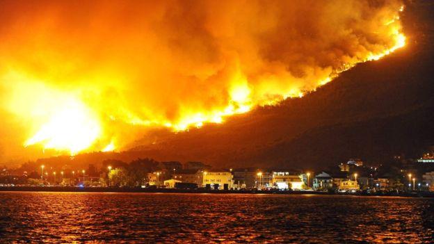 Літак ДСНС України вилітає доЧорногорії для гасіння масштабних лісових пожеж