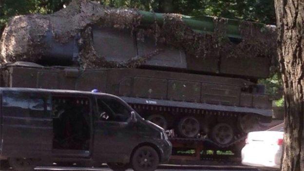 Bellingcat показали нову фотографію російського Бука, зякого був збитий МН17