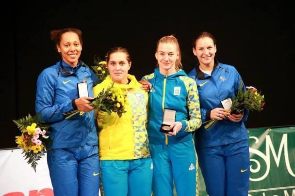 Жіноча команда зфехтування нашпагах принесла Україні шосте «золото» Універсіади