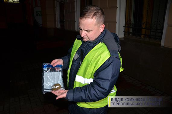 Упоїзді Перемишль-Київ знайшли корпус гранати