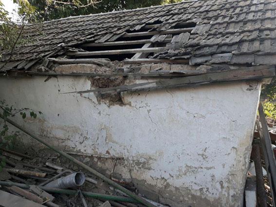 Бойовики обстріляли Мар'їнку: пошкоджено 7 будинків