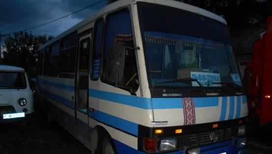 НаЛьвівщині п'ятеро людей отримали опіки вавтобусі