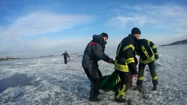 УЧеркасах загинув підліток, який провалився під лід наДніпрі