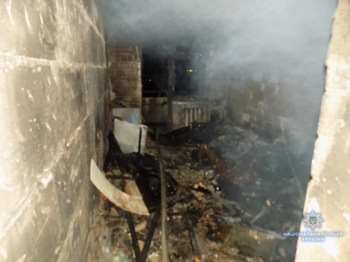 УСтрию, щонаЛьвівщині, під час пожежі убагатоповерхівці загинула людина