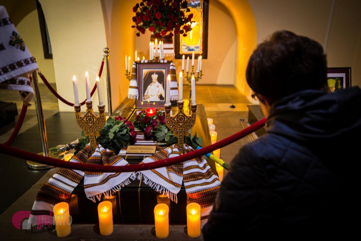 Поховання Андрея Шептицького. Крипта. Собор Святого Юра. Фото Олена Ляхович
