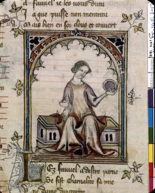 Алегорія гріху Хтивості, 1320, Роман Фовеля. BNF Fr. 146, fol. 12. Фото - Symbolon.