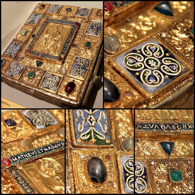 Оправа Євангелія, 1506 р. Німеччина, Баден-Вюртемберґ. Британський музей. Лондон. Фото - Symbolon.