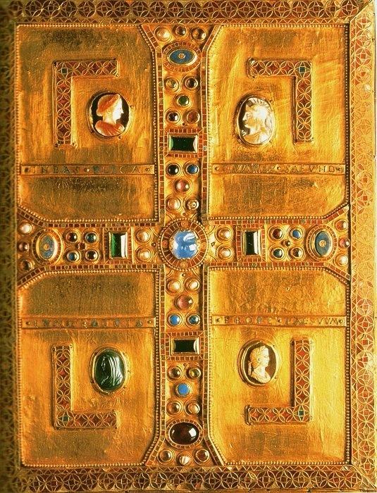 Оправа Євангелія лангобардської королеви Теоделінди. Поч. VII ст. Собор міста Монца в Ломбардії, Італія. Фото - Symbolon.