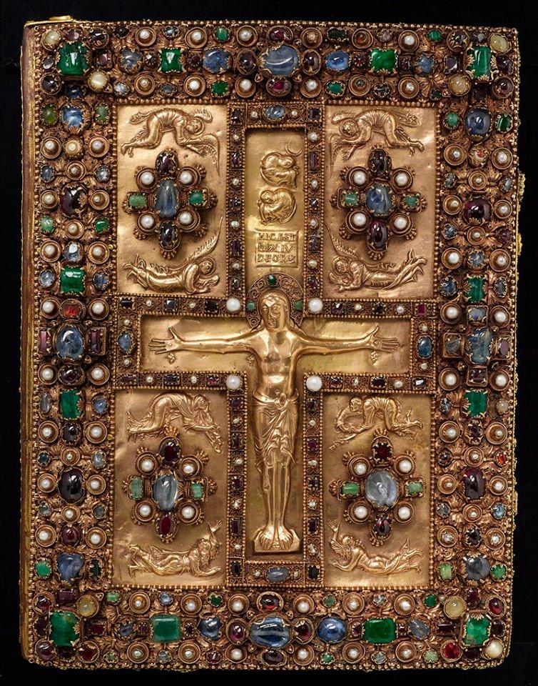 Оправа Євангелія із Ліндау. Остання чверть ІХ ст. Бібліотека Пірпонта Моргана. Нью-Йорк. Фото - Symbolon.