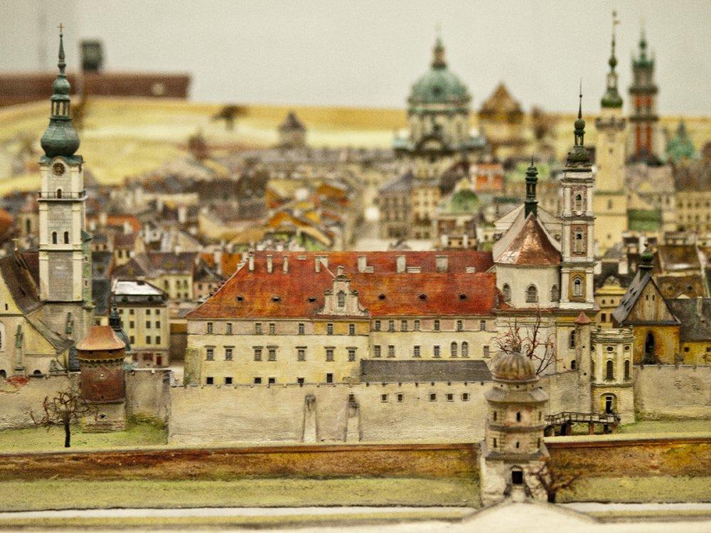 Панараму Львова інженер Януш Вітвіцький почав робити у 1928 році Фото: panoramalwowa.