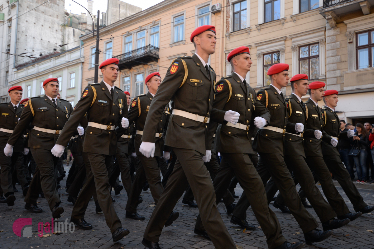Марш захисників України. Фото Гал-інфо, Олена Ляхович