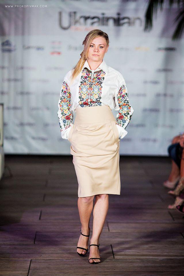 Караванська показала у США нову колекцію вишиванок. Фото – Максим Прокопів. 9803d30739b4e