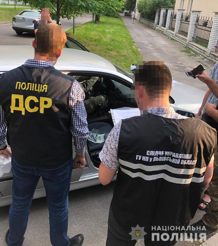 Новини Львова: У Львові на хабарі затримали офіцера з військового ВНЗ