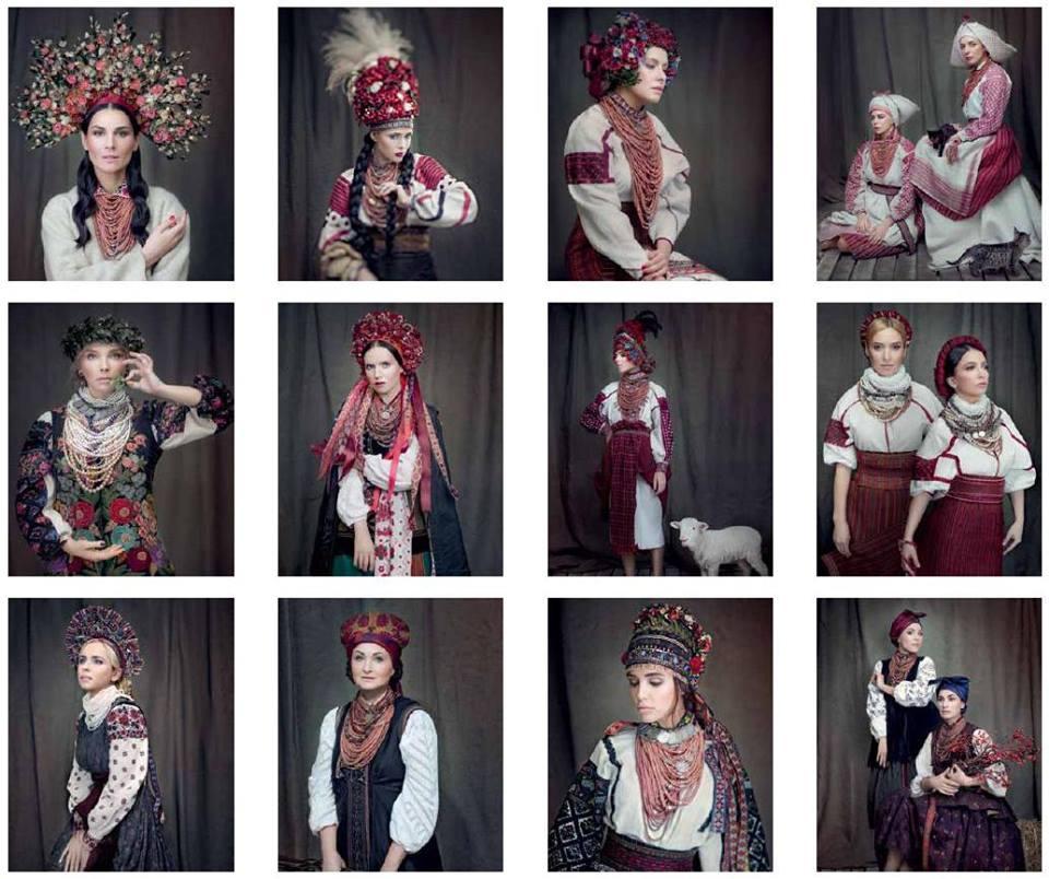 Українські співачки вдягнули національні костюми для благодійного  календаря. Фото 6c68718105c39