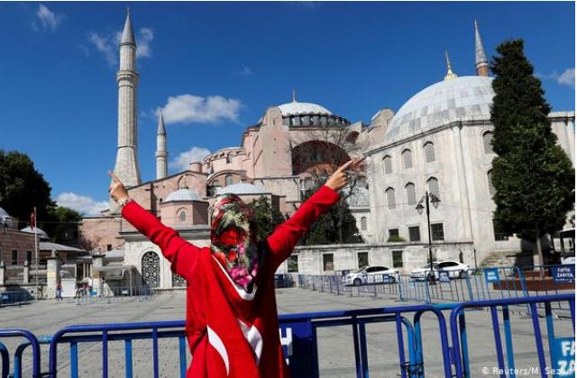 Софійський собор у Стамбулі стане мечеттю 24 липня