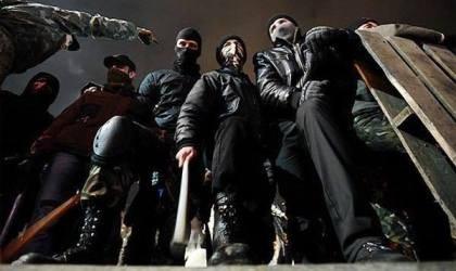 """""""Правый сектор"""": Наша цель - это отстранение Януковича, арест Захарченко, Клюева, запрет ПР и КПУ - Цензор.НЕТ 9362"""