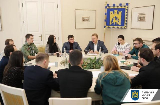 Садовий обговорив зі студентськими ГО розвиток молодіжної політики міста